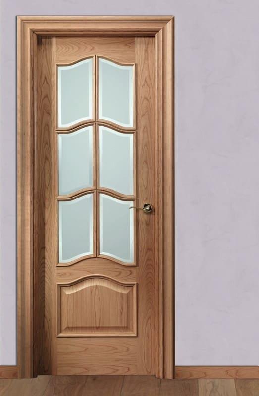 Puertas de madera de cerezo